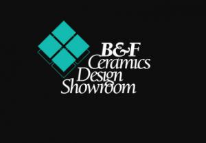 B&F Ceramics Design Showroom logo