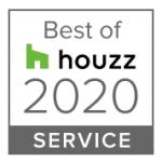 Best of Houzz 2020 Service award